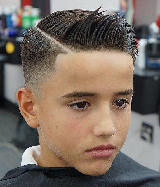 tendências de Cortes de cabelo infantil 2018