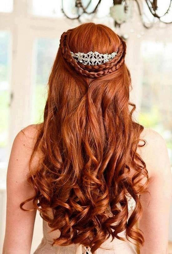 cabelos ruivos para festa