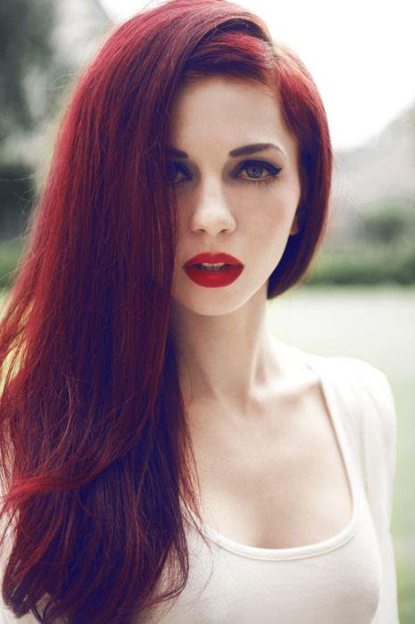 cabelos vermelhos 2018 fotos