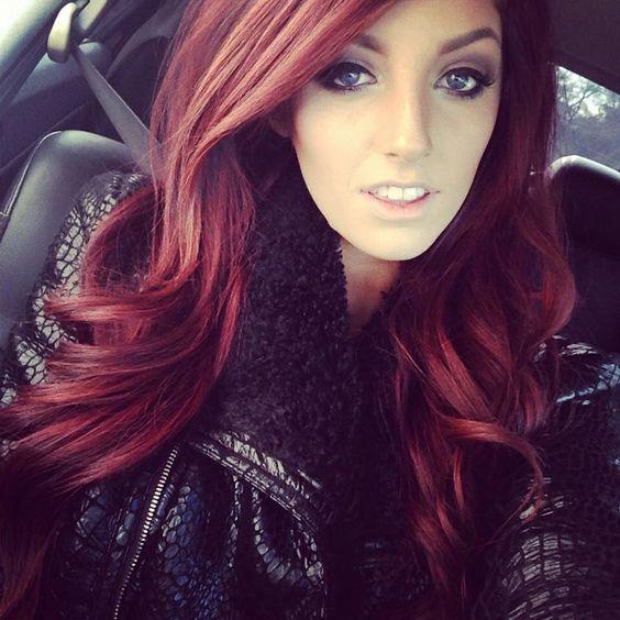 cabelos vermelhos 2018 tonalidades
