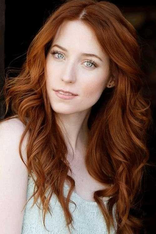 cabelos vermelhos para branquinhas