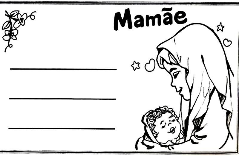 Cartões para dia das mães 2017