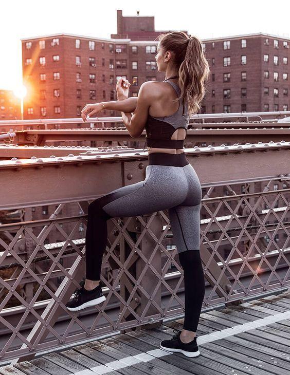 moda fitness femininas 2019