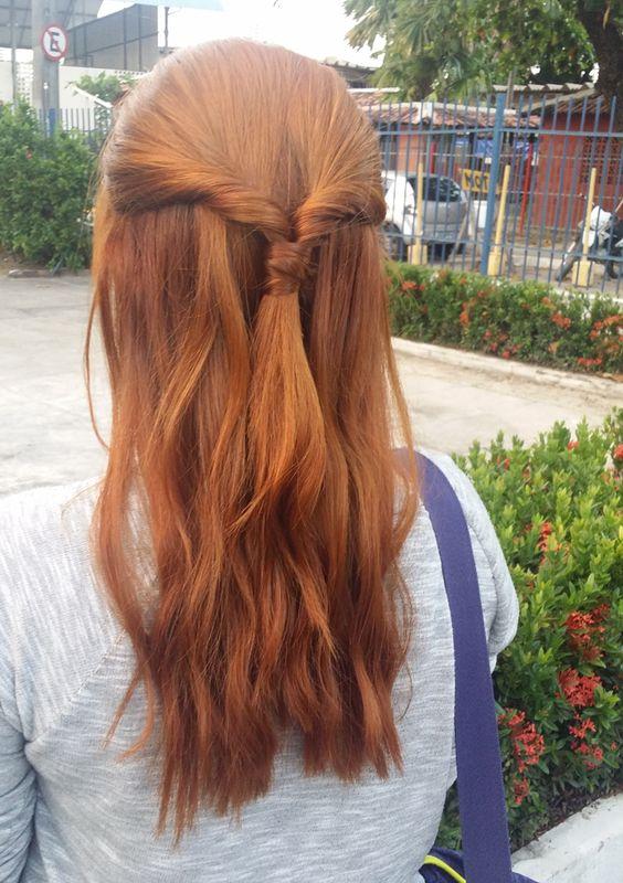 penteados cabelos ruivos