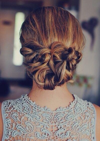 Penteados para Casamentos lindos