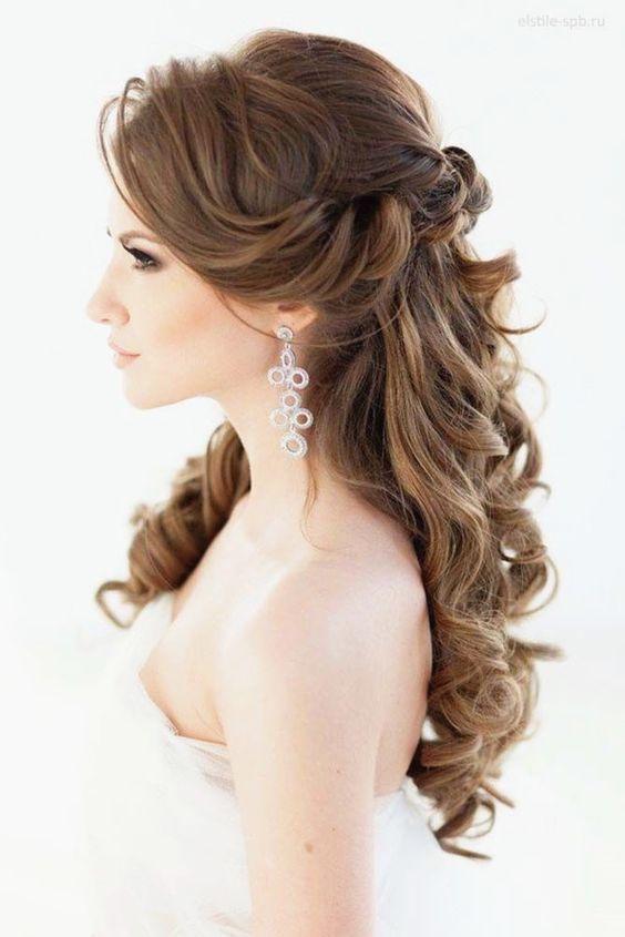 Sugestões para penteados para casamento 2019