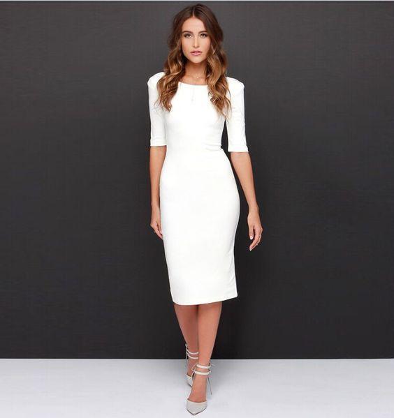vestidos colados elegantes